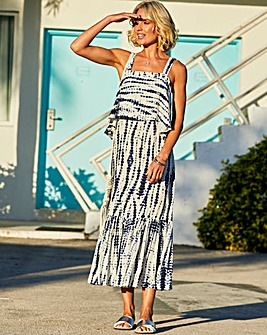 Julipa Tie Dye Layered Dress