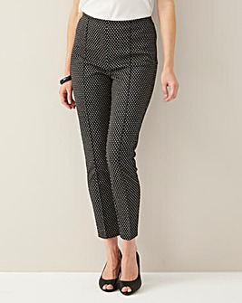 Julipa Textured Stretch Trousers 27""