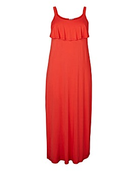 Junarose Red Maxi Dress