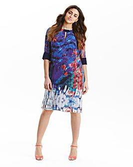 Little Mistress Print Tunic Dress