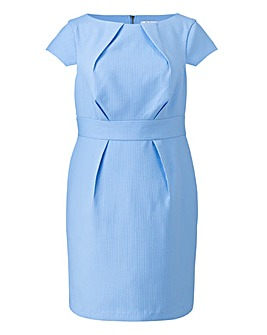 Darling Textured Fitted Dress
