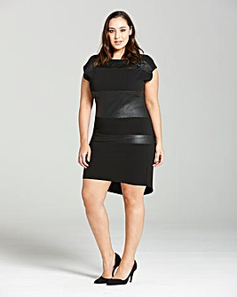Elvi Reptile Print Dress