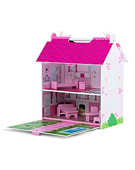 Plum Hove Wooden Dolls House