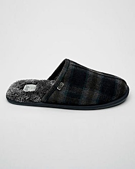 Lazydog Barkley Check Mule Slipper