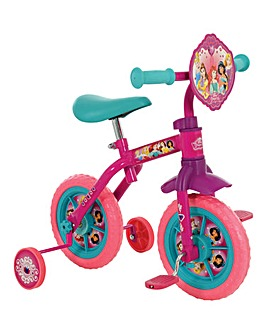 Disney Princess 2-in-1 10 Training Bike