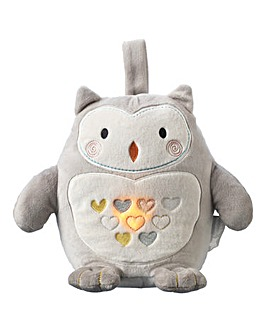 Tommee Tippee Gro Ollie the Owl Rechargeable Grofriend Light and Sound Sleep Aid
