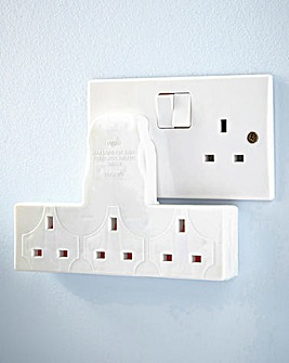 3 Way Socket Extension