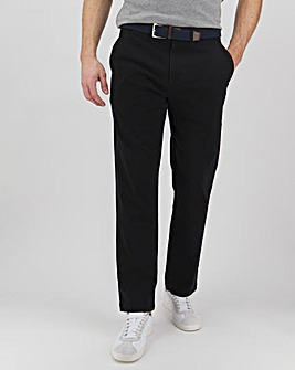 """New and Improved Belted Chino 31"""" with Softer Stretch Fabric"""