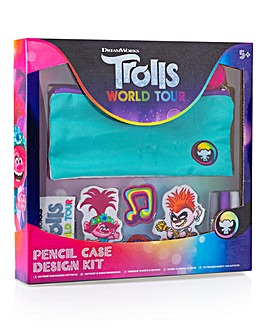 Trolls World Tour Pencil Case Design Kit