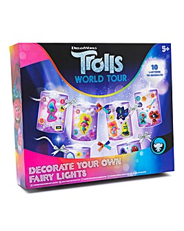 Trolls World Tour Decorate Your Own Fairy Lights