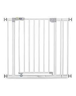 Hauck Open'n Stop Safety Gate + 9cm Extension - White