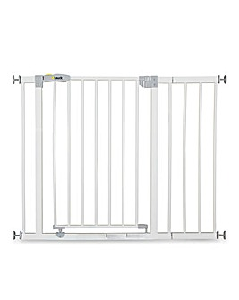 Hauck Open'n Stop Safety Gate + 21cm Extension - White