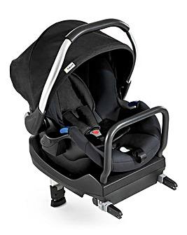 Hauck Comfort Car Seat 0+ Fix Set - Black/Black