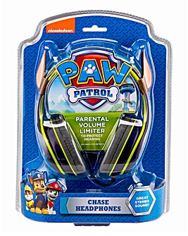 Paw Patrol Chase Headphones with Plush Ears