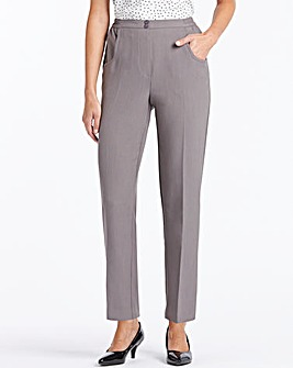 Essential Collection Straight Leg Pull On Trousers Length Extra Short