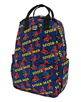 Loungefly Spider-Man Square Backpack