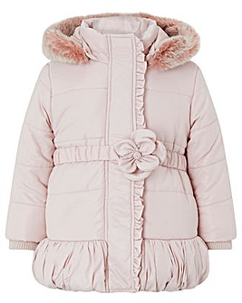 Monsoon Baby Pearl Pink Padded Coat