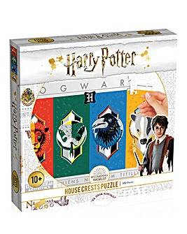 Harry Potter House Crest 500pc Jigsaw