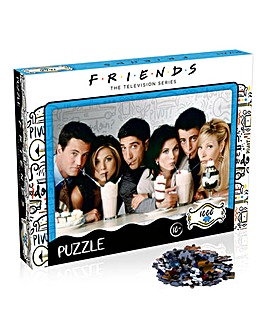Friends Milkshake Jigsaw 1000pc