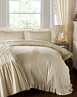 Vantona Monique Cream Duvet Cover Set
