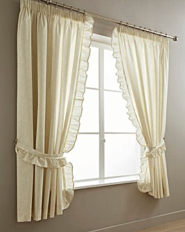 Vantona Monique Cream Curtains