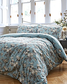 Vantona Antique Floral Duvet Cover Set