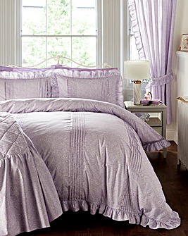 Vantona Monique Lilac Duvet Cover Set
