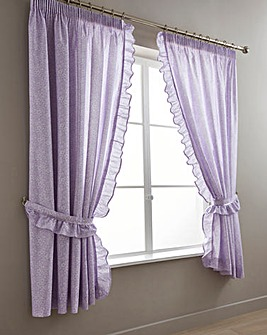 Vantona Monique Lilac Curtains