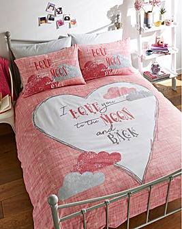 Love You Duvet Cover Set