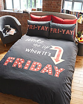 Friday Duvet Cover Set