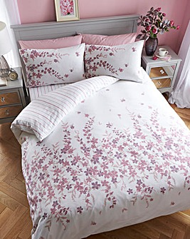 Lucy Brushed Cotton Duvet Cover Set