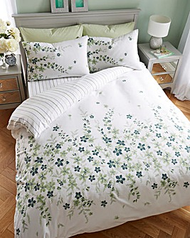 Lucy Floral Brushed Cotton Duvet Cover Set