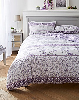 Leonie Purple Duvet Cover Set