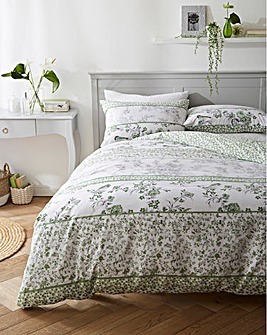 Leonie Green Duvet Cover Set