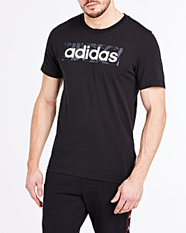 adidas AOP Box Linear Logo T-Shirt