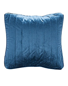Velvet Quilted Square Cushion