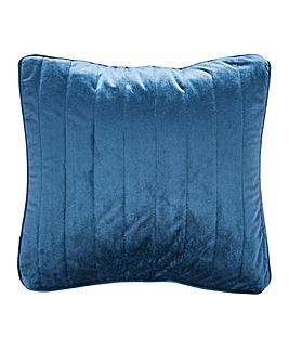 Velvet Quilted Square Cushion
