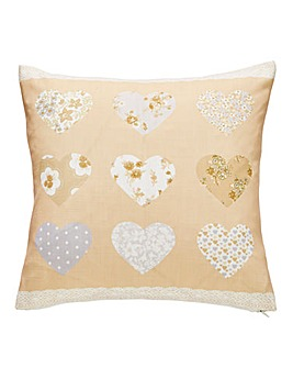 Nora Heart Square Cushion