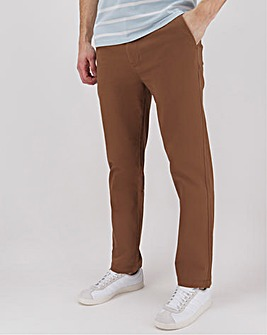 "New and Improved Comfort Waist Chino 31"" with Softer Stretch Fabric"
