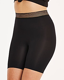 Simply Be Ribbed Knitted Cycling Shorts