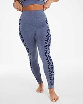 Simply Be Animal Jacquard Leggings