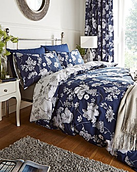 Louisa Cotton Duvet Cover Set