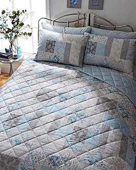 Ethel Blue Bedspread