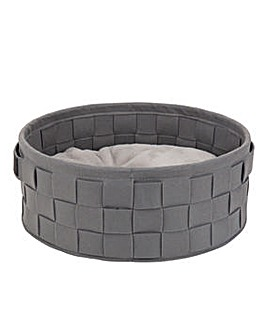 Scruffs Habitat Woven Felt Soft Cat Bed