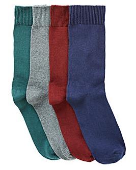 Capsule Pack of 4 Boot Socks