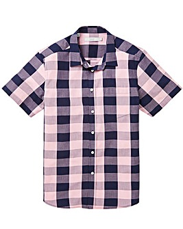 WILLIAMS & BROWN S/S Check Shirt