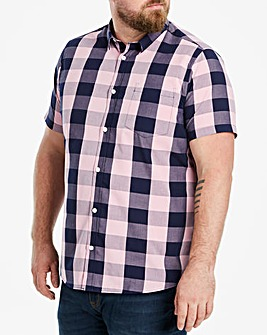 WILLIAMS & BROWN Short Sleeve Check Shirt
