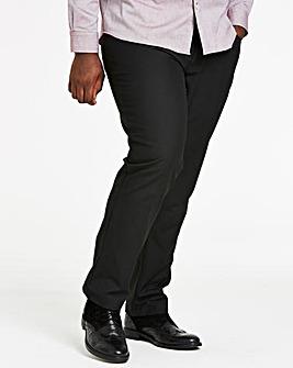 Black Five Pocket Reg Fit Trousers