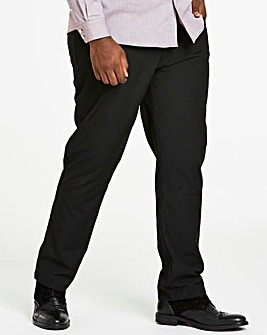 Black Five Pocket Reg Fit Trousers