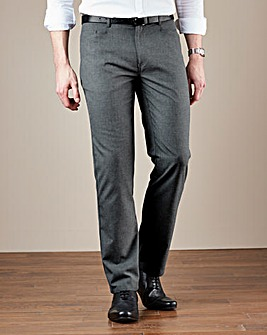 W&B London Five Pocket Reg Fit Trousers